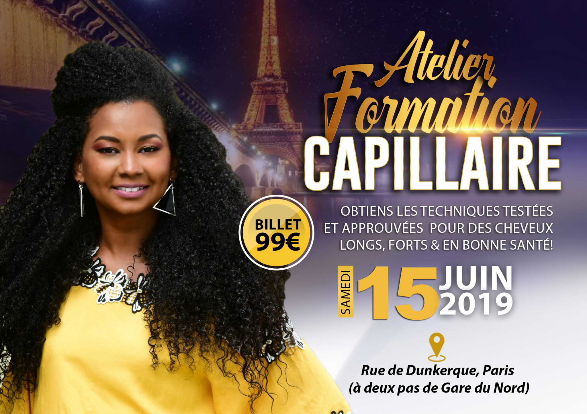 Atelier Transformation Capillaire